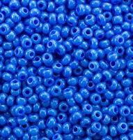 Бисер №16136, №10, Preciosa (Чехия), светло-синий, натуральный, непрозрачный