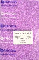 Бисер № 58528, Preciosa,10, светло-сиреневый радужный, прозрачный