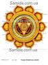 Чакра Манипура - Воля - схема вышивки бисером SA 3-68