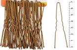Шпилька для создания причёски, цвет темная бронза с прочным наконечником