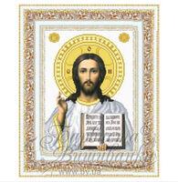 Иисус Христос схема для вышивки бисером ТО-050