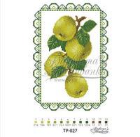 Салфетка спасовская, ТР-027 схема-рисунок на атласе для вышивания бисером