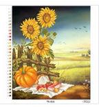 Осенний натюрморт, ТК-016 схема-рисунок на атласе для вышивки бисером №10