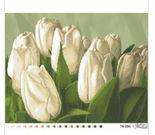 Букет тюльпанов,ТК-006 схема для вышивки бисером на ткани