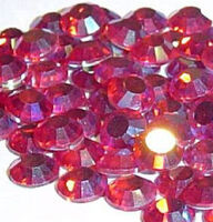 Стразы DMC (Thermal adhesive)розовый хамелеон, полупрозрачный