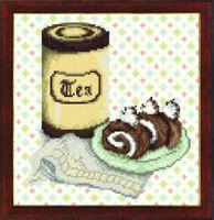 Натюрморт СБ-287 Схема с рисунком для частичного вышивания бисером на авторской канве