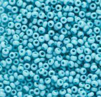 Бисер № 03133, Preciosa,10, голубой пастельный,  натуральный, непрозрачный