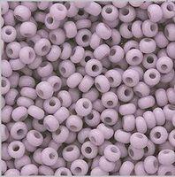 Бисер №03222, №10, Preciosa (Чехия), светло-сиреневый, натуральный, непрозрачный
