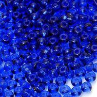 Бисер №30100, №10, Preciosa (Чехия), тёмно-синий фиалковый, полупрозрачный