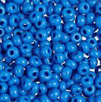 Бисер №33210, №10, Preciosa (Чехия), светло-синий джинс, непрозрачный
