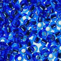 Бисер №37030, №10, Preciosa (Чехия), светло-синий блестящий, прозрачный