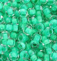 Бисер Preciosa №38358, 10, прозрачный бирюзовый