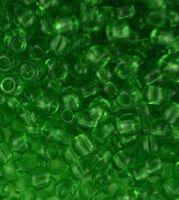 Бисер №50430, №10, Preciosa (Чехия), светло-зелёный, прозрачный