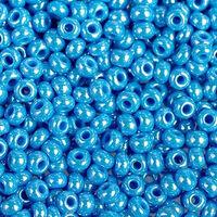 Бисер № 68050, Preciosa,№10, тёмно-голубой перламутровый, непрозрачный