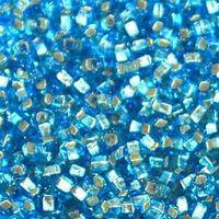 Бисер №67010, №10, Preciosa (Чехия), голубой, блестящий, прозрачный