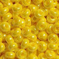 Бисер №88130, №10, Preciosa (Чехия), лимонно-жёлтый жемчужный, непрозрачный
