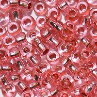 Бисер №78193, №10, Preciosa (Чехия), светло-розовый блестящий, прозрачный