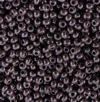 Бисер №28040, №10, Preciosa (Чехия), перламутровый, аметист темный, непрозрачный