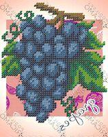 Бисер заготовка вышивка БК-5078 Виноград