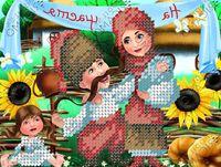 Оберег счастья бисер заготовка вышивки БК-5148
