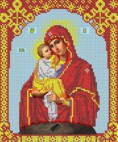 Божия Матерь Почаевская схема для вышивки бисером БА4-73