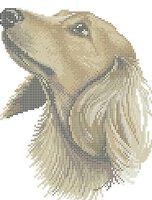 Джаспер схема для вышивки бисером на ткани А4-0278