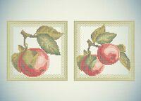 Яблоки схема для вышивки бисером А3-0608