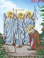 Явление Святой Троицы Преподобному Александру Свирскому Чудотворцу, арт. БКР-3074