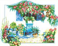 Канва с рисунком РТ 039 вышивка крестиком