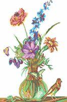Канва с рисунком РТ 064 вышивка крестиком