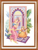 Канва с рисунком РТ 031 вышивка крестиком Танец