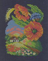Кусочек лета, ЧВ-3178 схема-рисунок (полноцветная) на атласе для вышивания бисером(нитками)