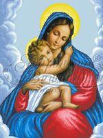 Мария с ребенком, арт. ТО-095