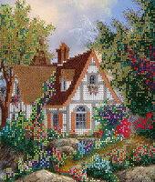 Мир вашему дому, МІКА-011 схема-рисунок на габардине для вышивания бисером