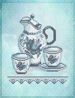 Набор для молока схема для вышивки бисером на ткани А4-0463