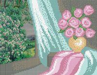 Натюрморт схема для вышивки бисером на ткани А4-334