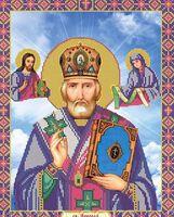Николай чудотворец  ЮМА 362 схема для вышивки бисером