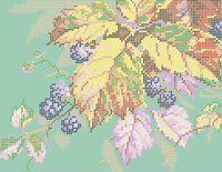 Осень А4-0444 cхема для вышивки бисером