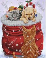 Подарок, МИКаА-711 схема для вышивания на ткани бисером №10