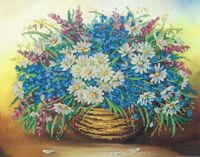 Полевые цветы, МІКА-127 схема для вышивания бисером