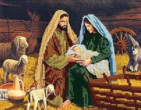 Рождение Христа схема для вышивки бисером DANA-22
