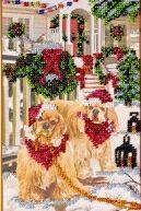 Рождественское утро АВ-053 набор для вышивки бисером на холсте
