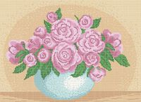 Розы А3-0499 cхема для вышивки бисером
