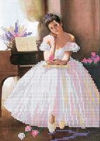 Балерина А5-079 схема вышивки бисером