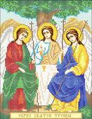 Схема для вышивки бисером Святая Троица А4-053