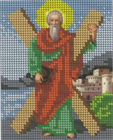 Святая апостол Андрей Первозванный БКР-5015 схема для вышивки бисером