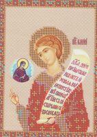 Святой мученик Роман, ЮМА-513 схема с рисунком для частичной вышивки бисером (крестиком)
