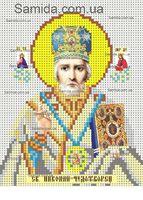 Святой Николай Чудотворец схема для вышивки бисером SAИ 5-12
