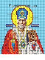 Святой Николай Чудотворец схема для вышивки бисером SAИ 5-14