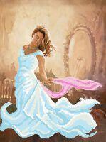 Танец девушки для вышивки бисером на ткани СВ-3069